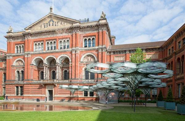 Elytra Filament Pavilion at the V&A Credit: Victoria and Albert Museum, London