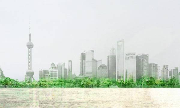 Huangpu East Bank Urban Forest. Image credit: HASSELL