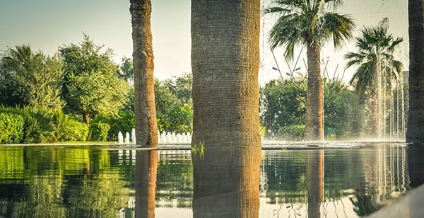 Mirror fountain. Photo Credit: Mohamed Abd El-Maguid©