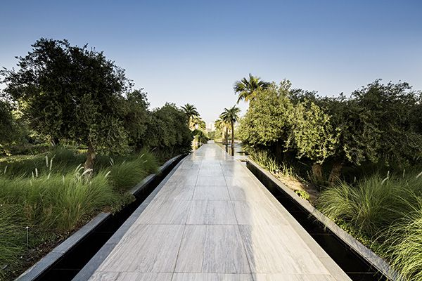 "Path in ""New Age"" side of Constitution Garden. Photo Credit: Nelson Garrido©"
