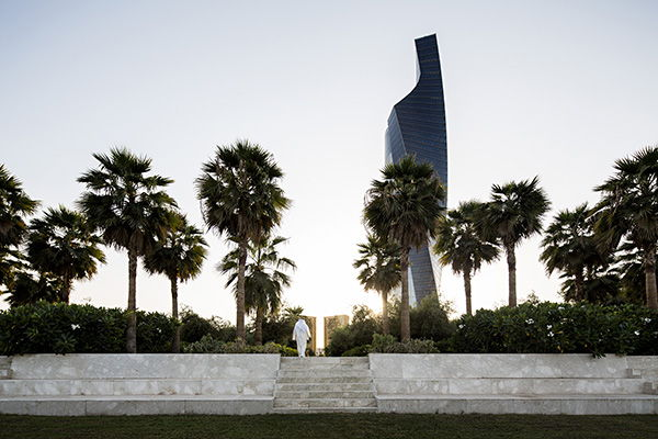 Constitution Garden entrance from Al Shaheed Park. Photo Credit: Nelson Garrido©