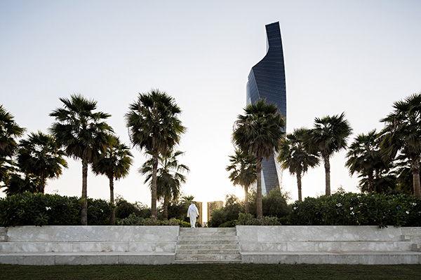 Constitution Garden entrance from Al Shaheed Park. Photo Credit: Nelson Garrido©