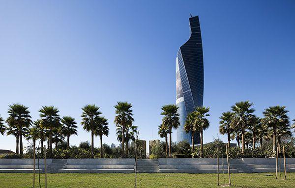 Constitution Garden view fron Al Shaheed Park. Photo Credit: Nelson Garrido©