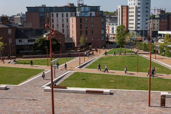 Jubilee Square Leicester