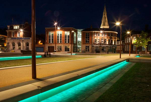 Jubilee Square Leicester by LDA Design. Photo credit: Robin Forster