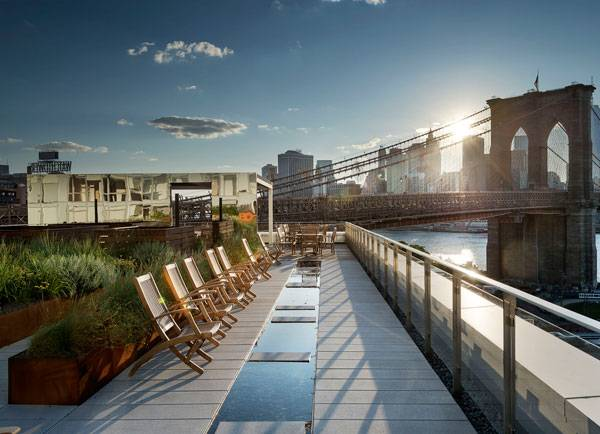 Dock Street Roof Terrace, by James Corner Field Operations