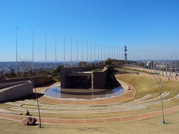 Amphitheatre - Freedom Park. By Shosholoza - Own work, CC BY-SA 3.0, https://commons.wikimedia.org/w/index.php?curid=17356552