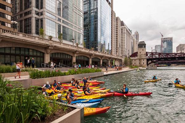 Chicago Riverwalk Photo credit: ©Christian Philips
