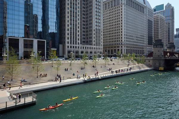Chicago Riverwalk. Photo credit: ©Kate Joyce