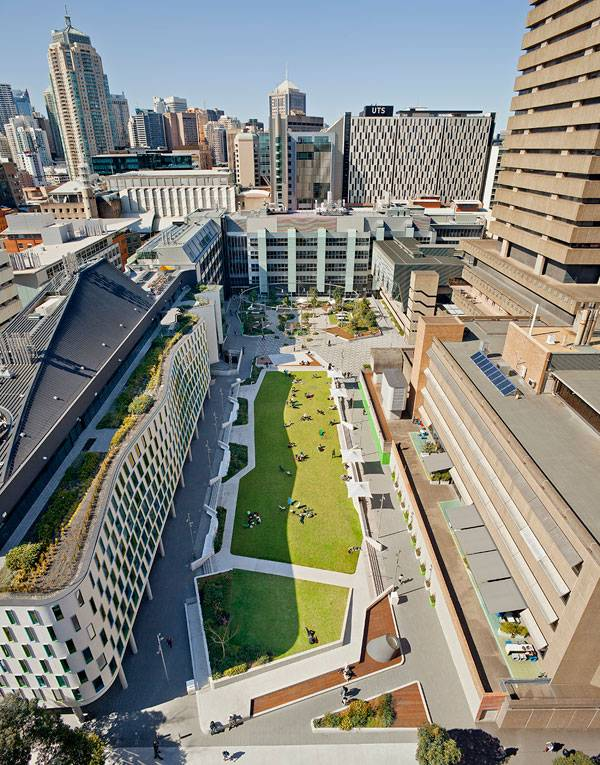 UTS Alumni Green . Photo credit: Simon Wood