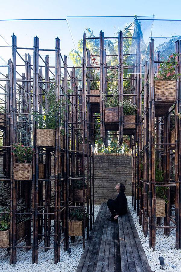Green Ladder by Vo Trong Nghia Architects Photograph: Brett Boardman