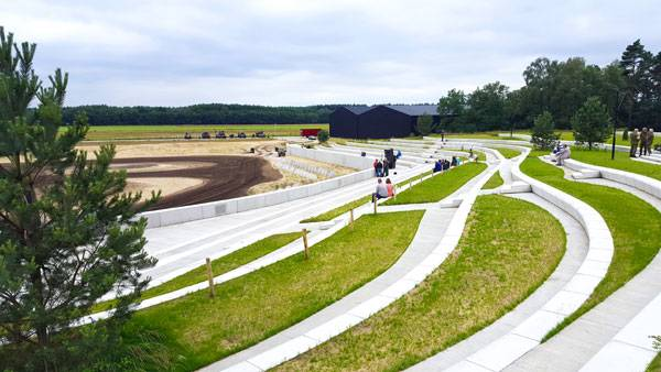 Military Museum. Photo credit: H+N+S Landscape Architects