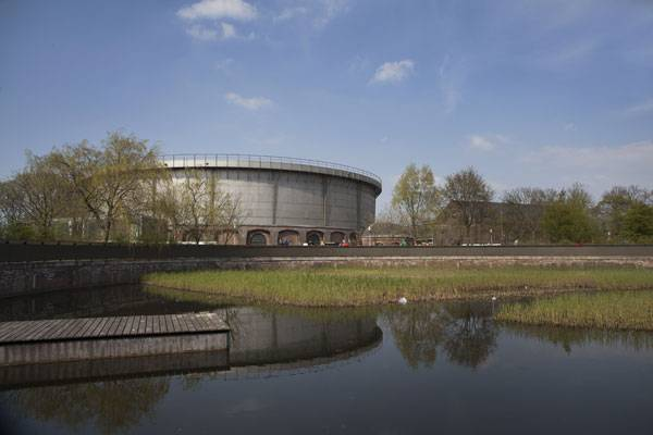 The Westergasfabriek. Photo courtesy of  Mecanoo