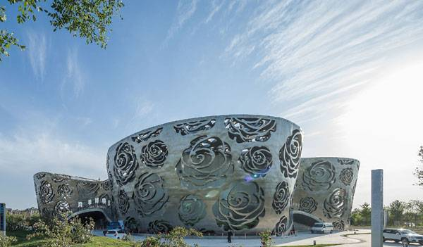 World's First Rose Museum. Photo credit: Xiao Kaixiong