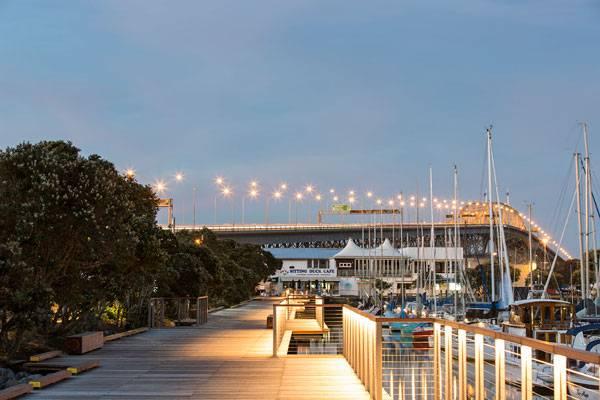 Westhaven Promenade. Photo credit: Jonny Davis
