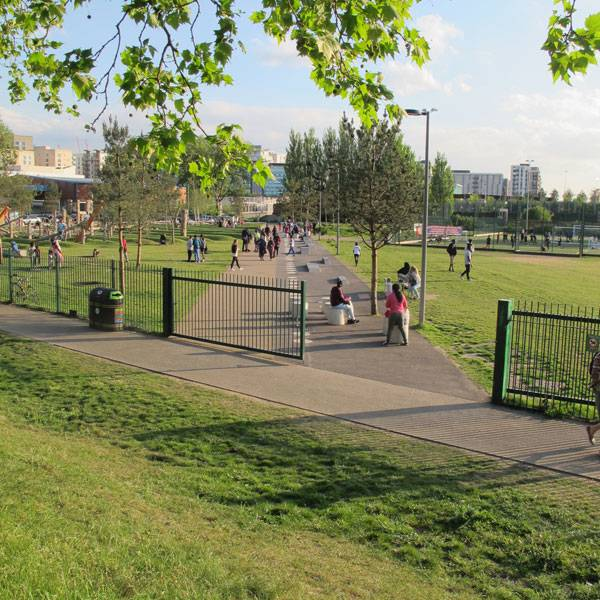Drapers Field. Photo courtesy of Kinnear Landscape Architects