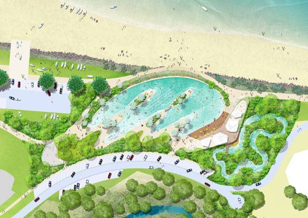 Yeppoon Landscape Design. Image courtesy of TCL