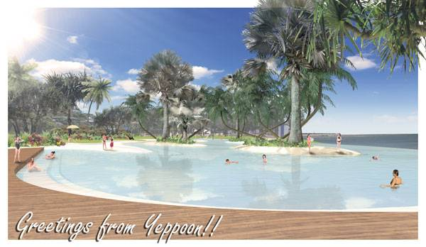 Yeppoon Landscape Design. Image courtesy of TCL