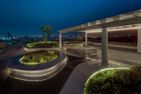 Angelopolis Corporate Terrace. Photo credit: Frank Lynen