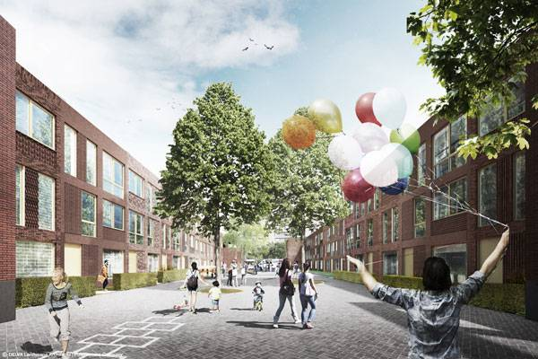 Partstad Rotterdam. Photo Credit : DELVA
