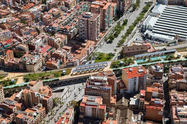Raised Gardens of Sants in Barcelona. Photo credit: Adrià Goula Sardà