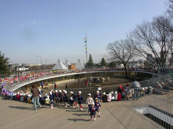 Fuji Kindergarten. Image courtesy of the staff of Tezuka Architects