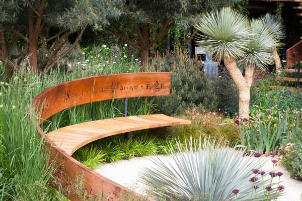 The Winton Beauty of Mathematics Garden, Photo courtesy of Nick Bailey