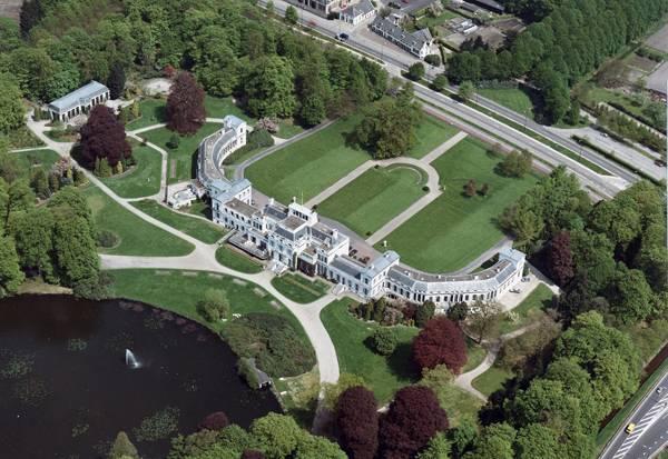 Aerial view Palace Soestdijk by Rijksvastgoedbedrijf