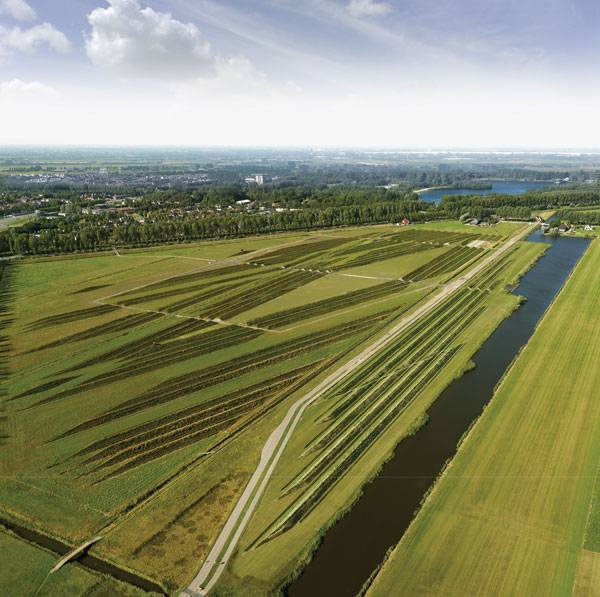 Land Art Park Buitenschot. Photo credit: Your Captain Luchtfotografie