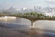 Garden Bridge. Credit: Arup