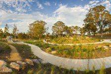Lizard Log Playground and Park. Photo credit: McGregor Coxall