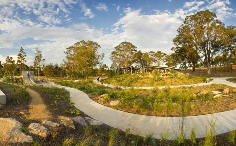 Lizard Log Playground and Park. Photo credit: McGregor Coxall
