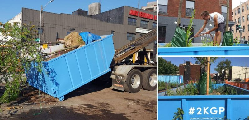 What Happens When You Fill a Dumpster with Dirt?