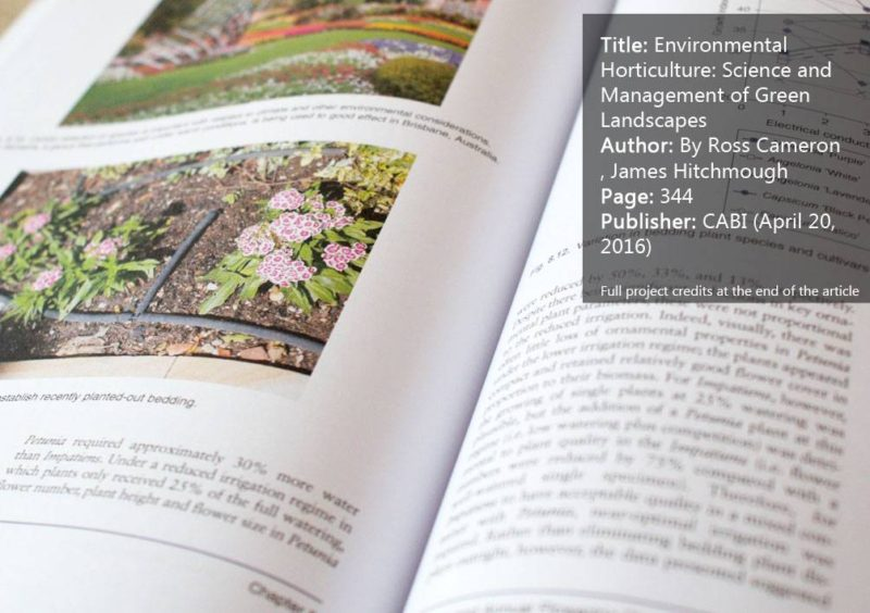 Environmental Horticulture: Science and Management of Green Landscapes. Get it HERE!
