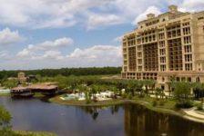 Lake feature at Four Seasons Orlando. Credit: EDSA