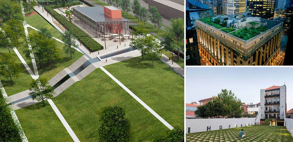 10 Ways That Green Roof Systems Can Benefit Big Cities