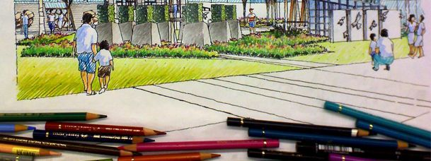 How To Suck At Hand Drawings And Still Be A Good Landscape Architect