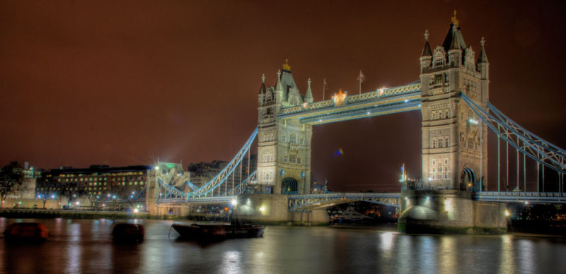 Photo Credit: HDR Tower Bridge by Robmcm CC2.0