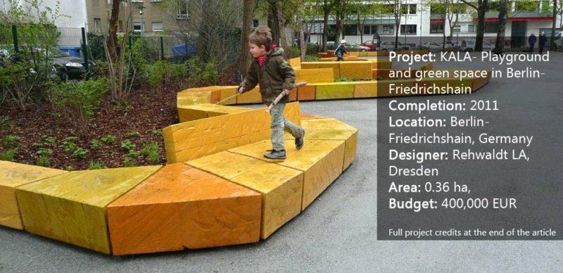KALA - Playground and green space in Berlin-Friedrichshain