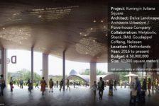 Koningin Juliana Square, by Delva Landscape Architects Urbanism / Powerhouse Company