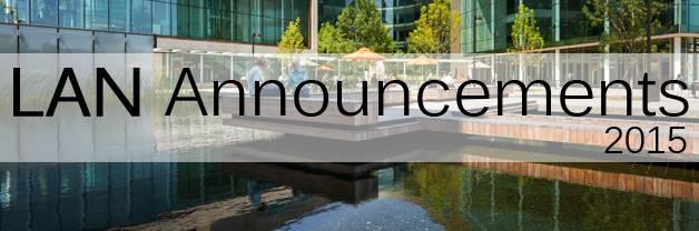 LAN Announcements 2015