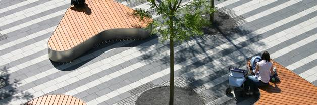 Landschaftsarchitekten Town Hall Square Solingen