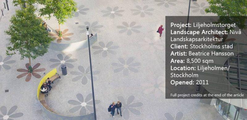 Liljeholmstorget by Nivå Landskapsarkitektur