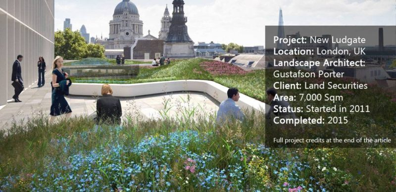 Why New Ludgate Will Become Your Role Model For Landscape Design