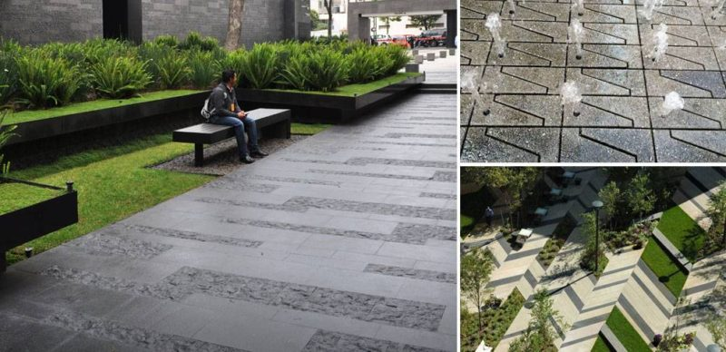 10 Projects That Show Us How to Use Paving in Landscape Design