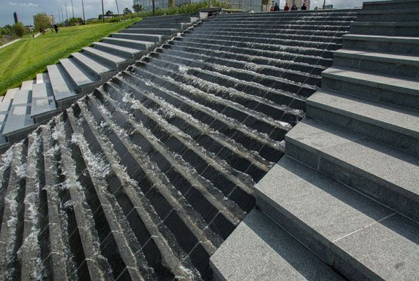 Roof Park Rotterdam Concept Design Water Stairs By Buro Sant En Co3