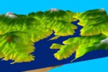 Software-for-Landscape-Architects - Print screen from Youtube video: ArcGIS 10 - Calculate Area and Volume of a Reservoir