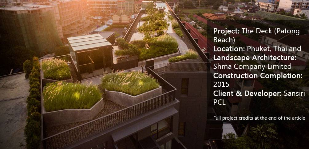 Awesome Roof Top Landscape Design In Thailand