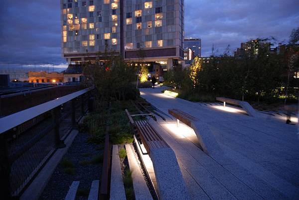 The High Line L Up Benches