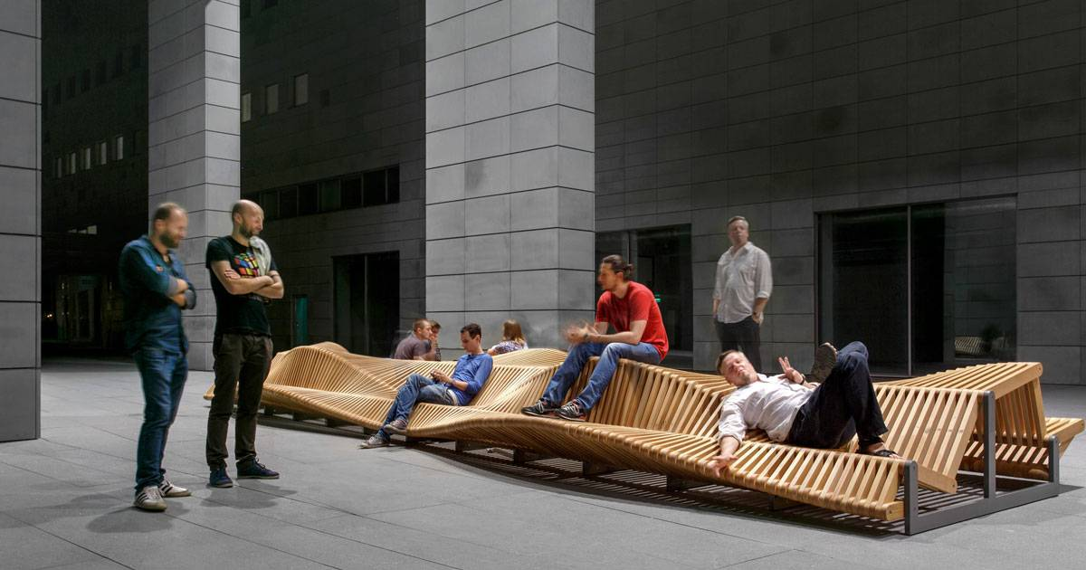 Uiliuili Bench How Can Urban Furniture Increase Public Creativity